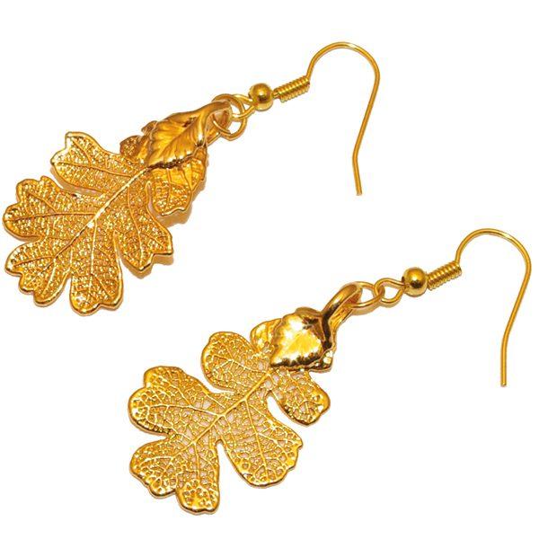Oak Gold Earring
