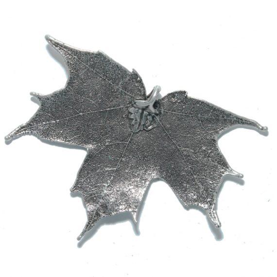 Kanadischer Ahorn Antik-Silber Anhänger