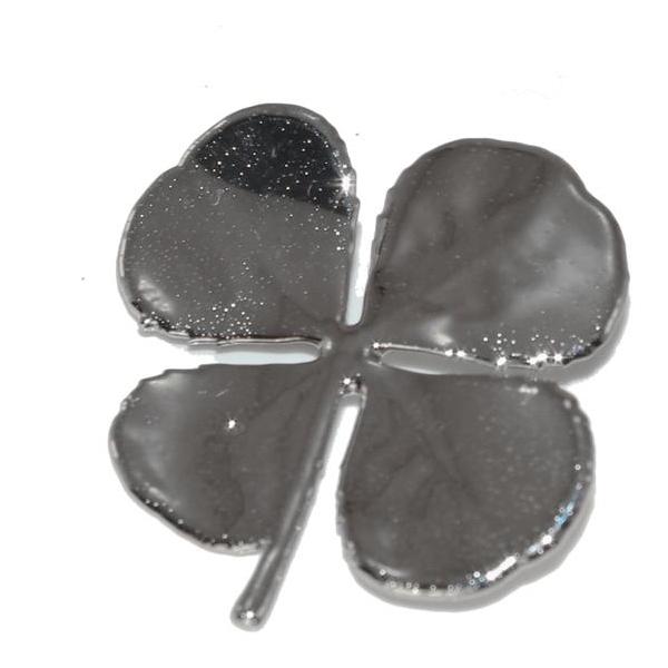 Kleeblatt Silber Anhänger