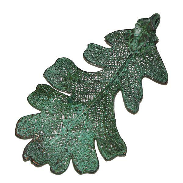 Kupfer Eiche Anhänger grün
