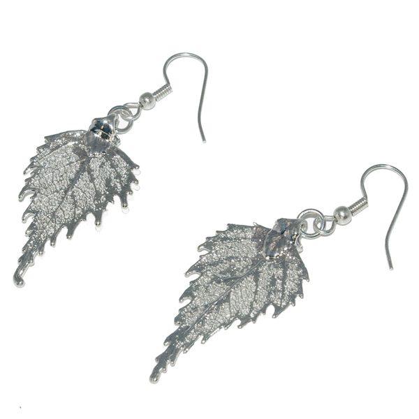 Birch Earrings Silver