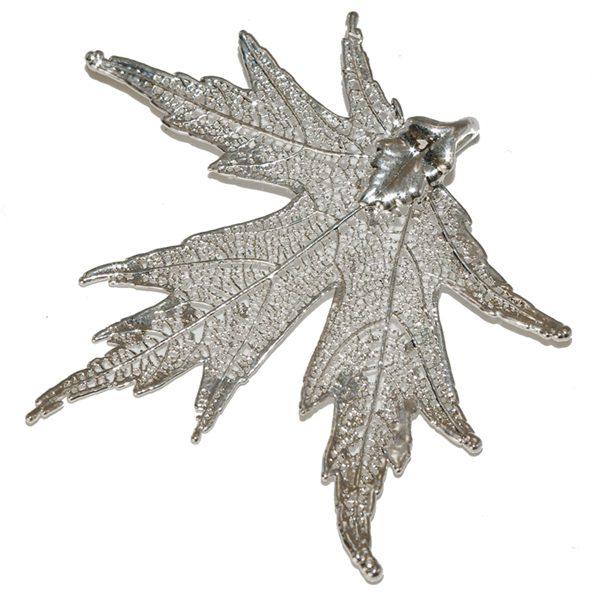 Silver-Maple Silver Pendant