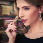 Immergrün Silber Ohrringe