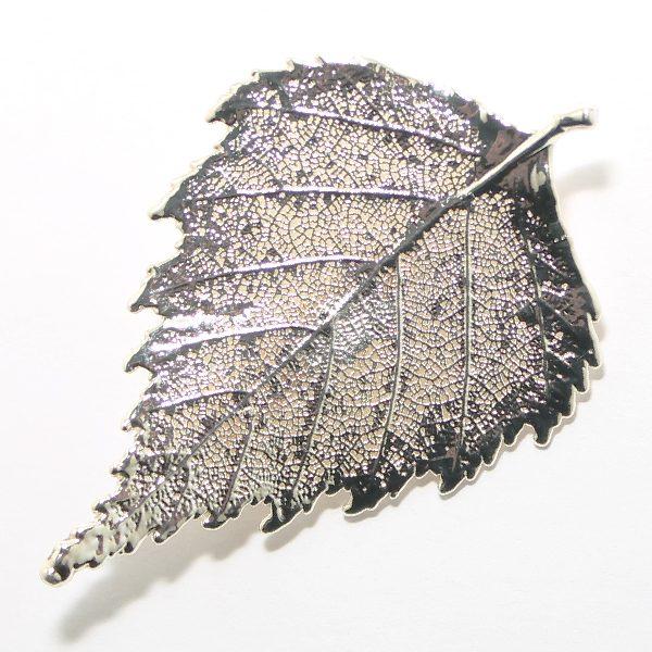Brosche Birke Silber