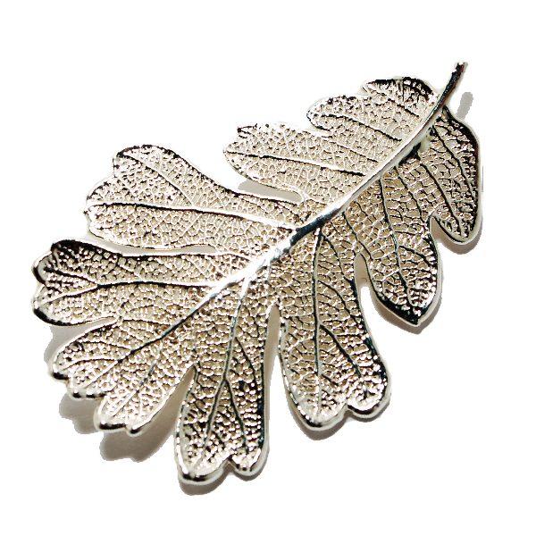 Brooch Oak Silver