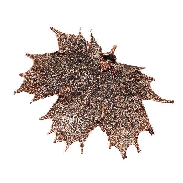 Kanadischer Ahorn Antik-Kupfer Anhänger
