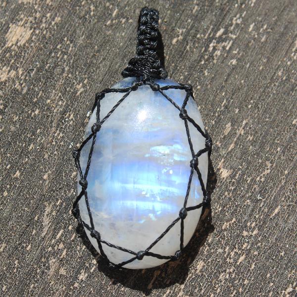 Macrame Stone - Moonstone 1