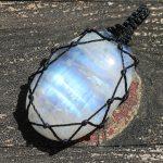 Macrame Stone - Moonstone 2