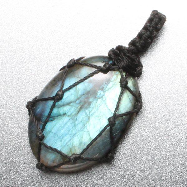 Macrame Stone - Labradorite 1