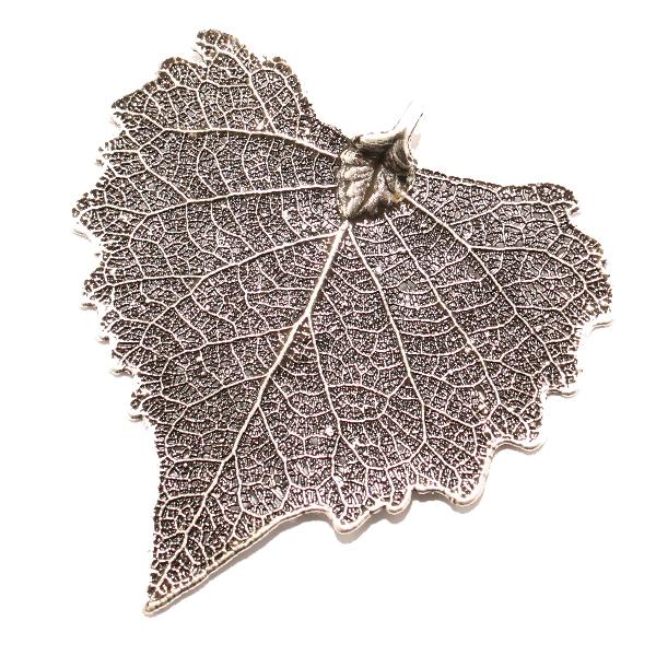 Pappel Antik Silber Anhänger